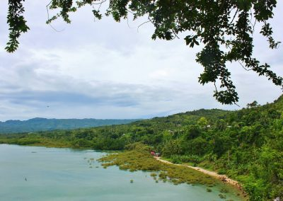 Filipijnen Holiday Home 2013 onderweg naar Kawasan Falls uitzicht