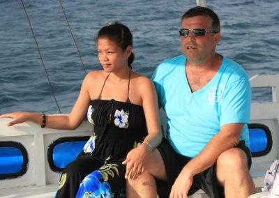 Filipijnen 2012 Holiday Home bangka pap en Didoi