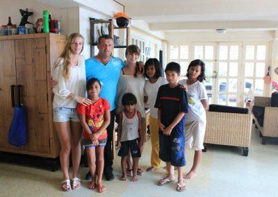 Filipijnen 2012 Holiday Home Familie foto