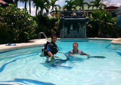 Filipijnen Holiday Home 2013 MoalBoal duiklessen