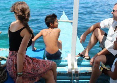 Filipijnen 2012 Holiday home bangka island hopping