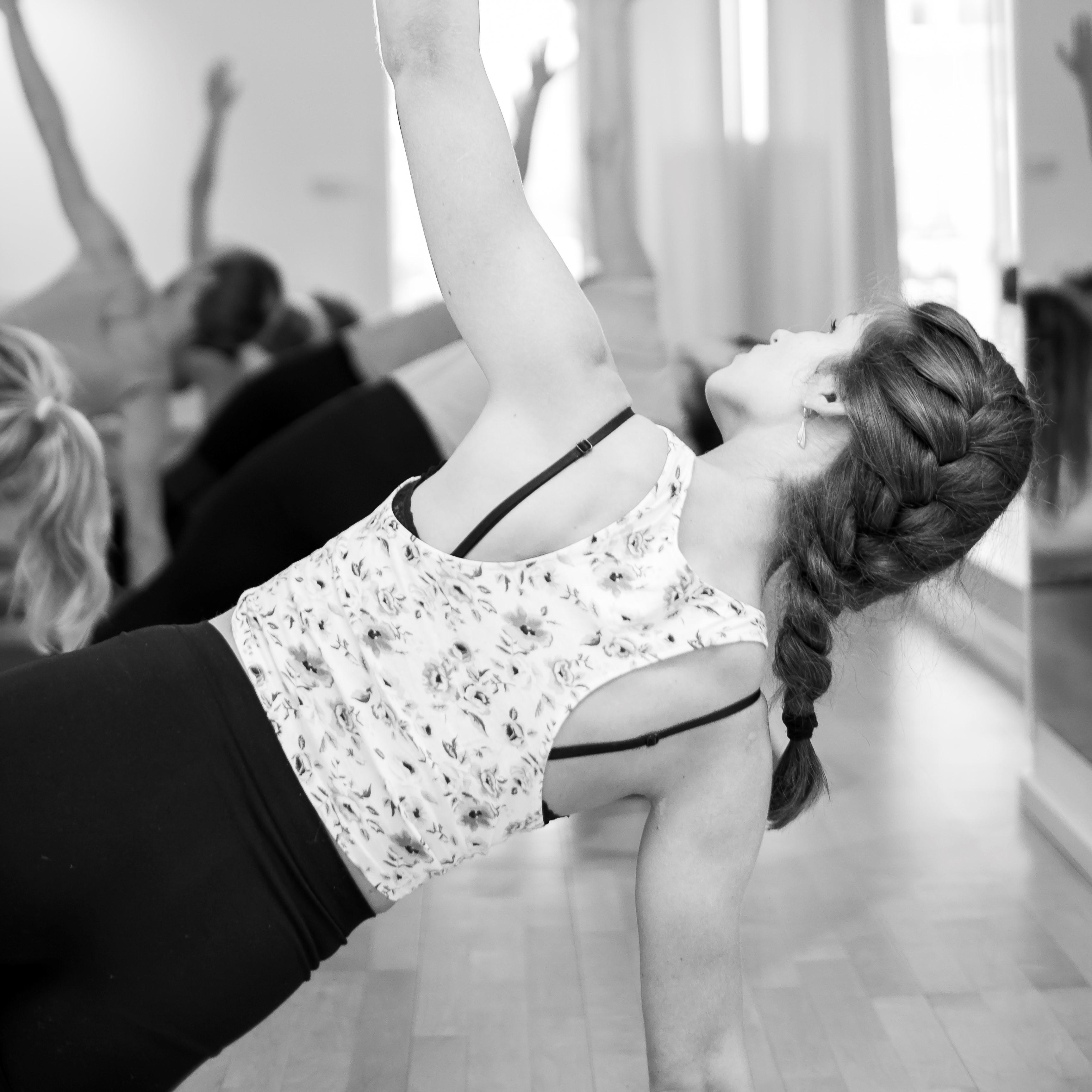 side plank yoga vinyasa flow